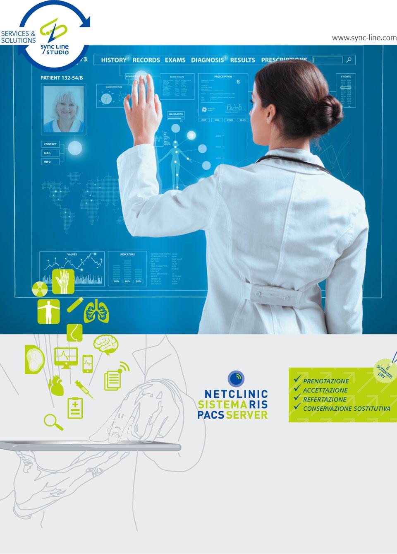 Sistema di gestione Net Clinic Ris Pacs integrato